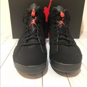 Jordan Shoes - Nwt w/box, receipt Men's Jordan 6 Infrared size9.5